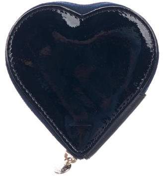 Aspinal of London Mini Heart Clutch