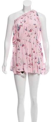 Etoile Isabel Marant Silk Asymmetrical Dress w/ Tags