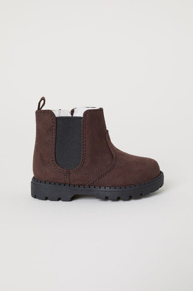 H&M Warm-lined Boots - Brown