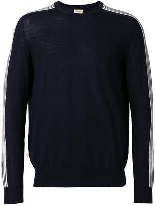Bellerose side-stripe jumper