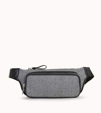 Tod's Tods Bumbag in Leather and Fabric