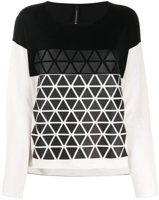 Pierantonio Gaspari Pierantoniogaspari geometric-print jumper