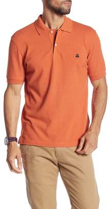 Brooks Brothers Heather Knit Polo