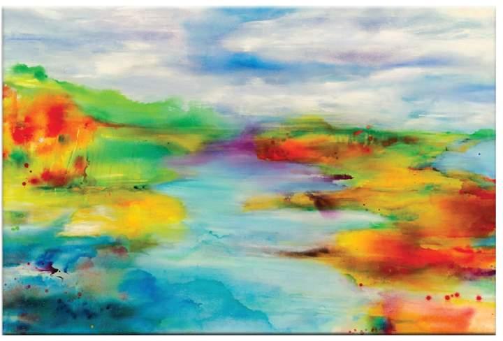 Artist Lane Happy by Deborah Brenner (Canvas)