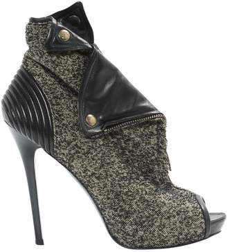 Alexander McQueen Cloth ankle boots