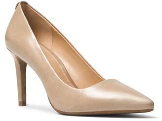 MICHAEL Michael Kors Dorothy Flex Leather Pointed Toe High-Heel Pumps