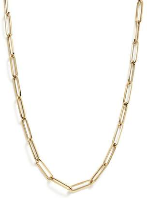 """Bloomingdale's Thin Link Collar Necklace in 14K Yellow Gold, 19"""" - 100% Exclusive"""