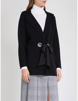 Claudie Pierlot Margaux bow-detail cardigan
