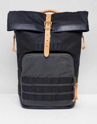 Fossil Roll Top Backpack