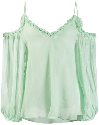 85531f4a793 Stella McCartney floaty cold-shoulder blouse