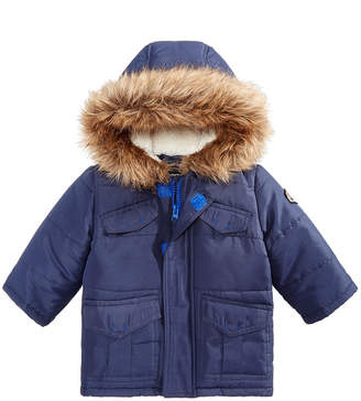 Co S Rothschild & Baby Boys Parka with Faux Fur Trimmed Hood