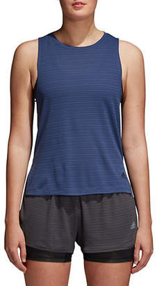 adidas Climachill Striped Tank Top
