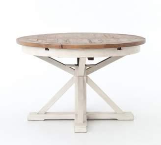 "Pottery Barn Hart 48"" Reclaimed Wood Extending Dining Table"