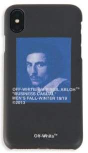 Off-White Lorenzo Bernini Graphic iPhone X Case