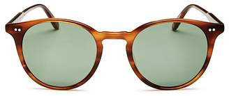 Garrett Leight Clune Round Sunglasses, 48mm