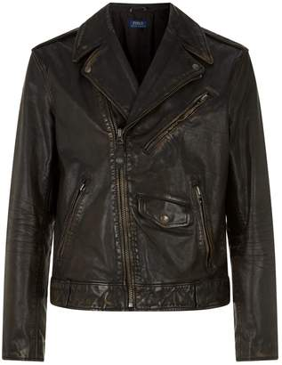 Polo Ralph Lauren Leather Biker Jacket