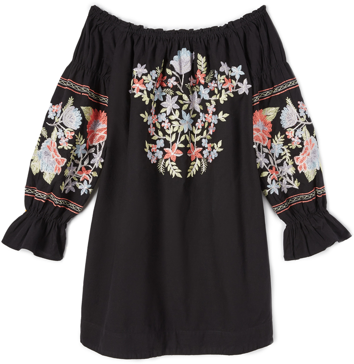 Free People Fleur Du Jour Mini Dress 18