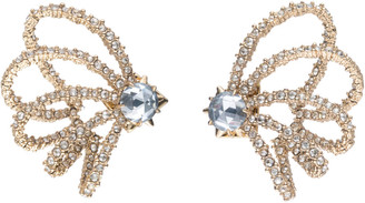 Alexis Bittar Crystal Lace Orbiting Post Earring
