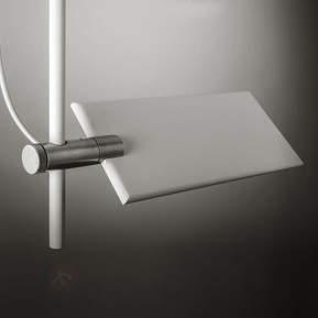 Weiße LED-Deckenleuchte GiuUp, 70 cm