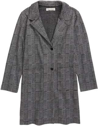 Treasure & Bond Easy Plaid Duster