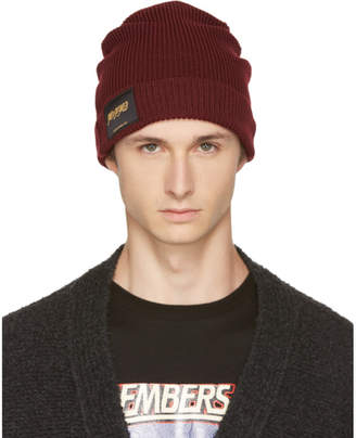 Stella McCartney Burgundy Members and Non Members Only Beanie