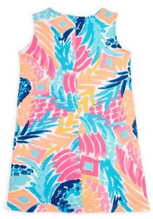 Lilly Pulitzer Toddler's, Little Girl's & Girl's Graphic Print Shift Dress