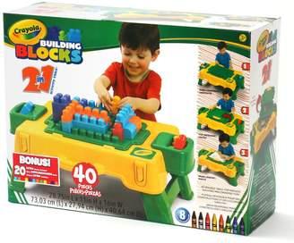 Crayola 40-pc. Building Blocks Table Set