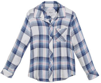 Rails Hudson Plaid Button-Front Shirt, Size 6-14
