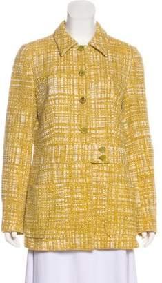 Prada Tweed Short Coat