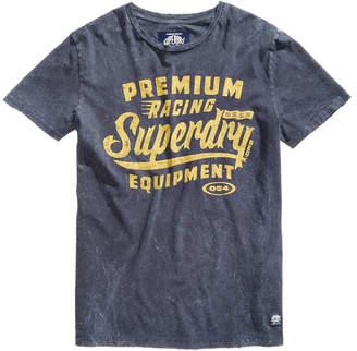 Superdry Men's Premium Racing Equipment Logo-Print T-Shirt