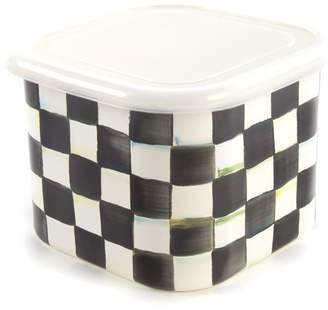 Mackenzie Childs Mackenzie-childs Courtly Check Large Square Container