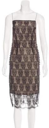 Thomas Wylde Sleeveless Lace Dress