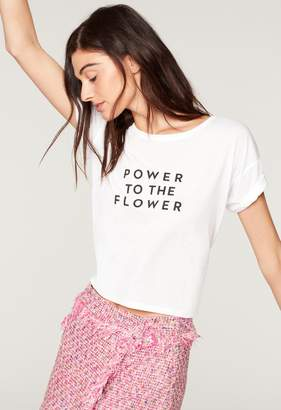 Milly POWER TO THE FLOWER BOXY TEE