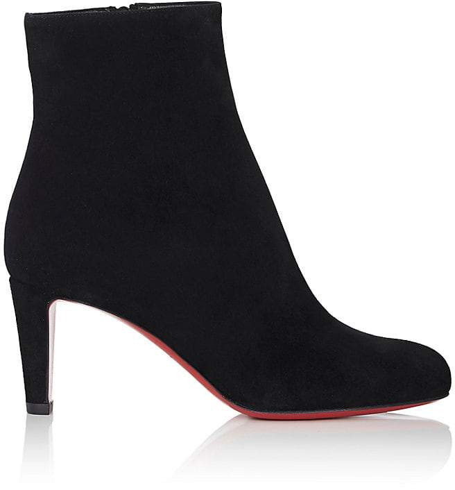 Christian Louboutin Women's Top Suede Ankle Boots