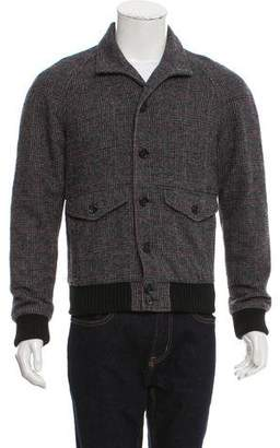 Dolce & Gabbana Wool Plaid Jacket