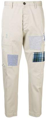 DSQUARED2 patch trousers