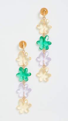 For Love & Lemons Billie Jean Tiered Earrings