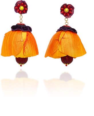 Ranjana Khan Tecoma Earrings