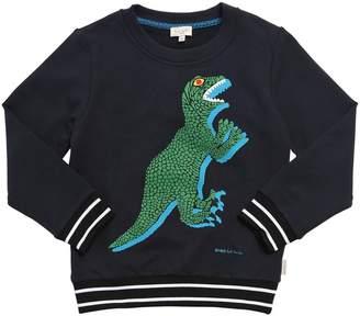 Paul Smith Dino Print Cotton Sweatshirt