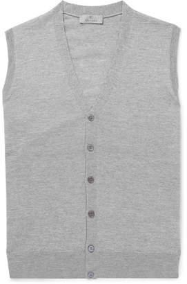 Canali Slim-Fit Merino Wool Vest