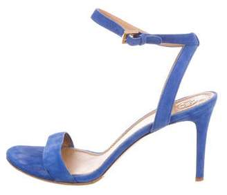 Tory Burch Suede Ankle Strap Sandals