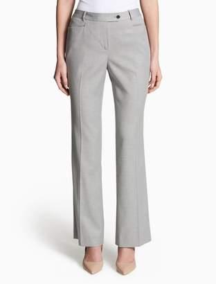 Calvin Klein straight leg modern fit suit pants
