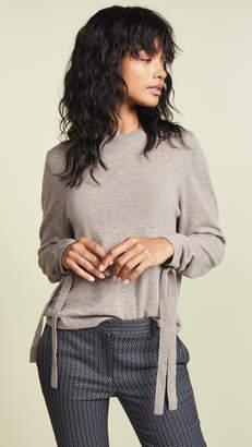 Autumn Cashmere Drawstring Sleeve Cashmere Sweater