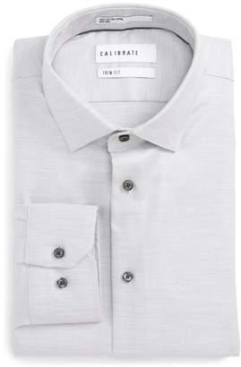 Calibrate Trim Fit Twill Dress Shirt
