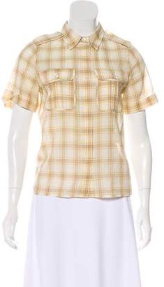 See by Chloe Printed Button-Up Top