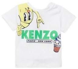 Kenzo Baby's Food Print T-Shirt
