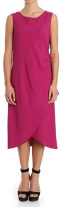 Alberta Ferretti Crepe Dress