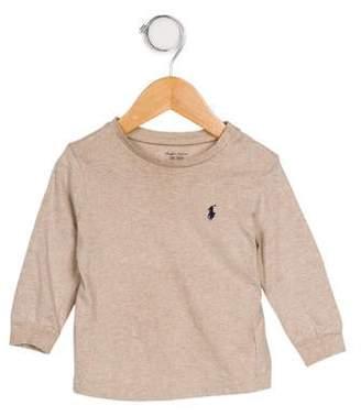 Ralph Lauren Boys' Long Sleeve Knit T-Shirt