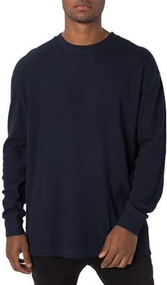 Zanerobe Rugger Oversize Waffle Knit Long Sleeve T-Shirt