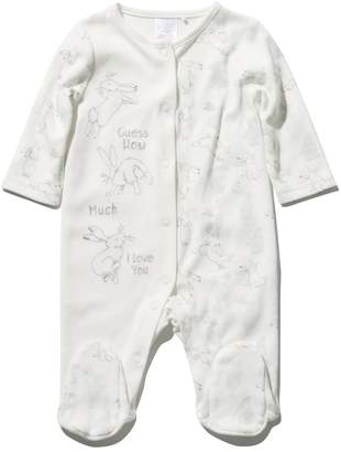 M&Co Guess how much I love you sleepsuit (Newborn - 1 yr)